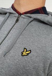 Lyle & Scott - Zip-up hoodie - mid grey marl - 4