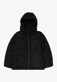 Blue Seven - STEHKRAGEN KAPUZE - Winter jacket - schwarz - 0