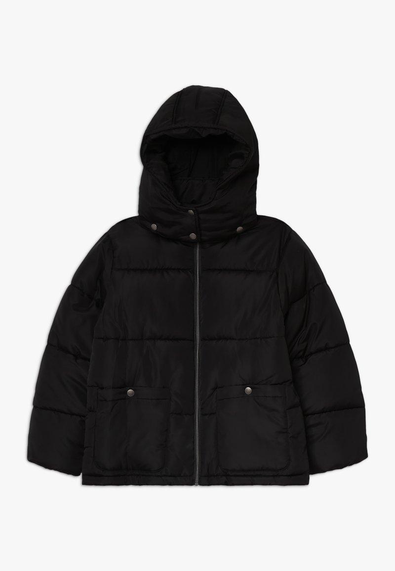 Blue Seven - STEHKRAGEN KAPUZE - Winter jacket - schwarz