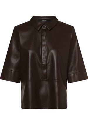 Shirt dress - schoko