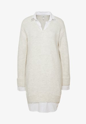 Jumper dress - cream/beige