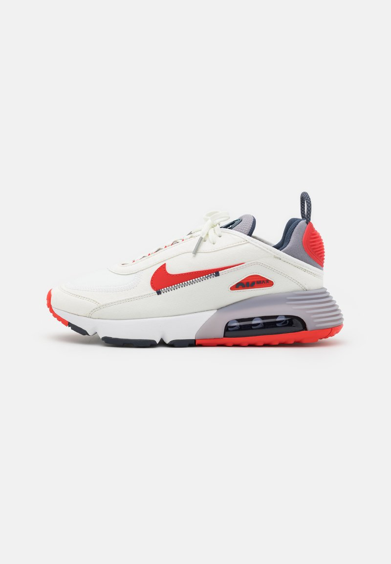 Nike Sportswear - AIR MAX 2090 - Trainers - summit white/chile red/cement grey/thunder blue/white