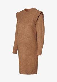 Supermom - DRESS - Stickad klänning - toasted coconut - 8
