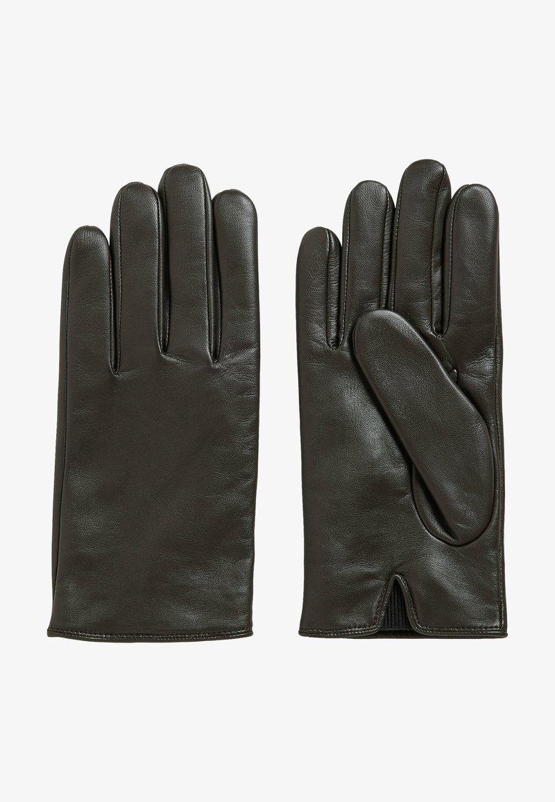 BOSS - GLOFE - Gloves - dark brown