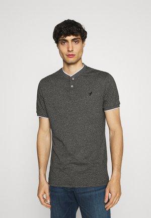 Polo shirt - mottled black
