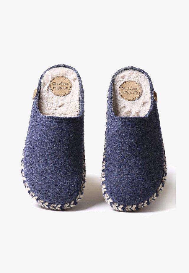 NABOR-FP - Mules - blau