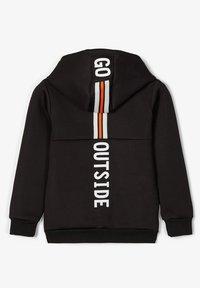 Name it - Zip-up hoodie - black - 2