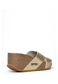 BAYTON - LIVERPOOL - Heeled mules - gold - 2