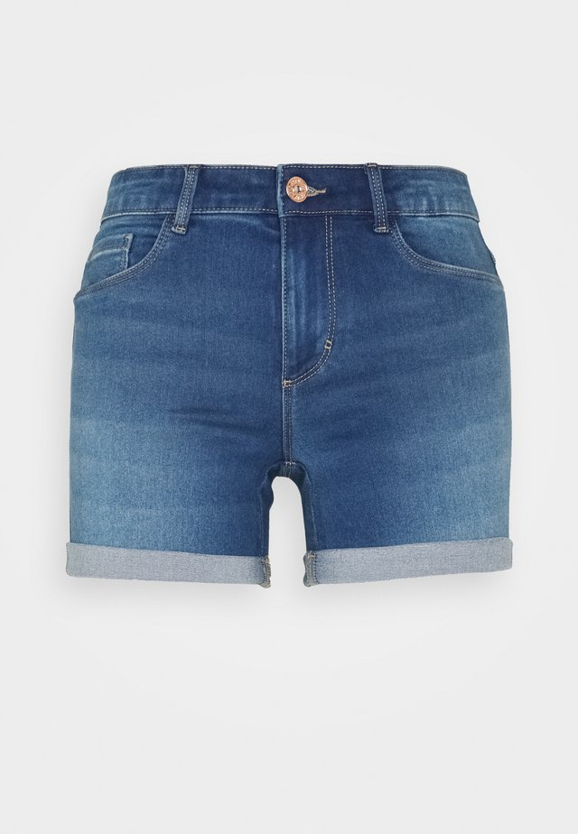 ONLROYAL LIFE - Denim shorts - light medium blue denim