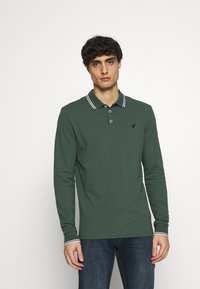 Pier One - Polo shirt - dark green - 0