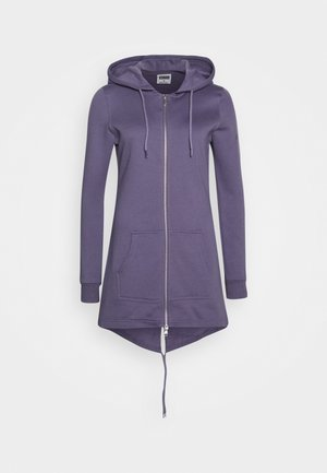 Mikina na zip - dusty purple
