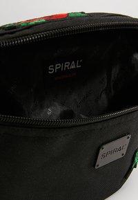 Spiral Bags - HARVARD BUMBAG - Ledvinka - black - 4