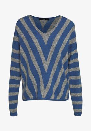 CHARLOTTE SWEATER - Sweter - grey blue