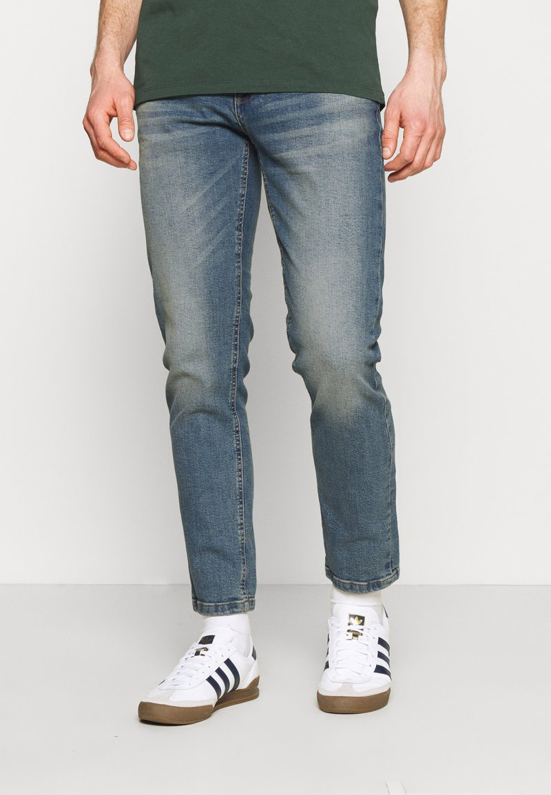 Redefined Rebel - CHICAGO - Slim fit jeans - dusty blue