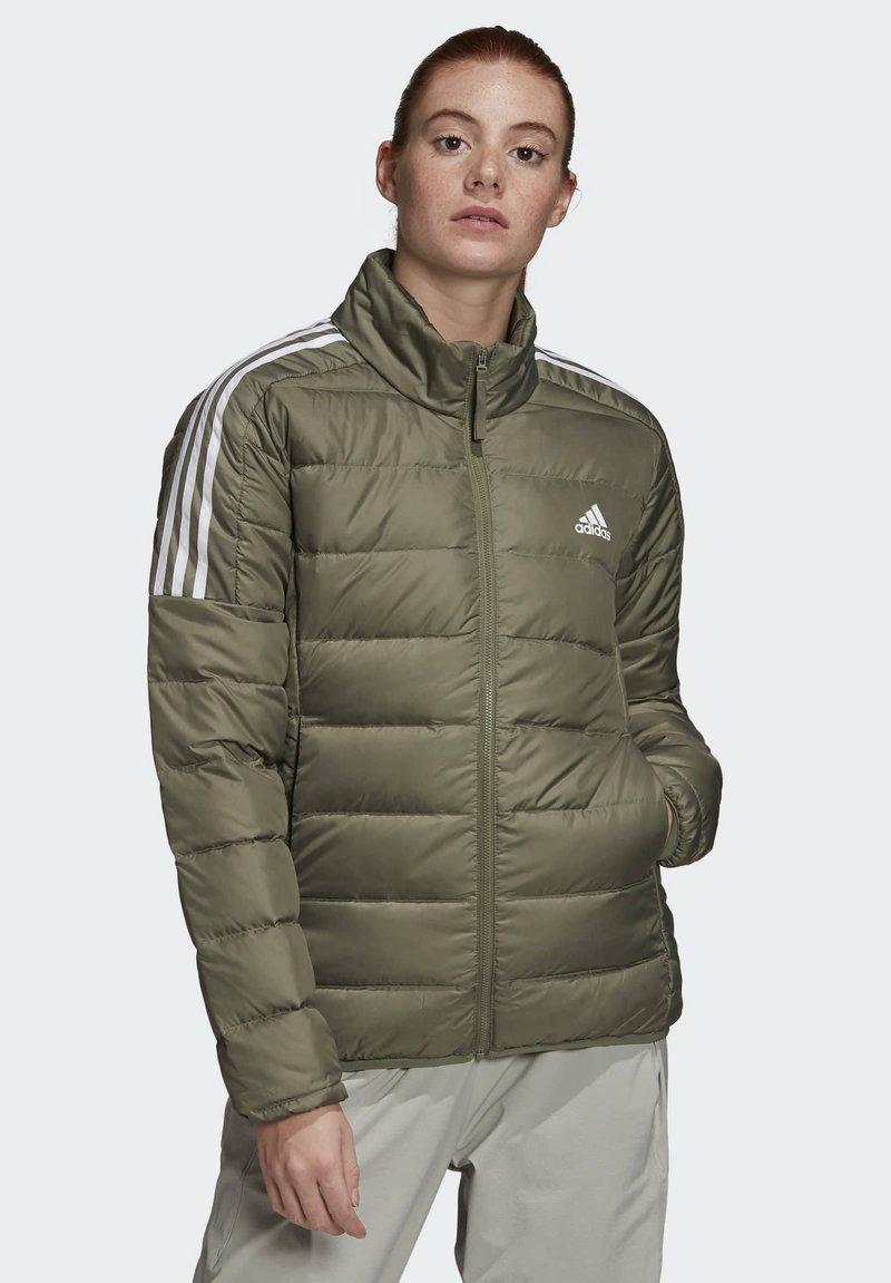 adidas Performance - ESSENTIALS PRIMEGREEN OUTDOOR DOWN - Down jacket - green