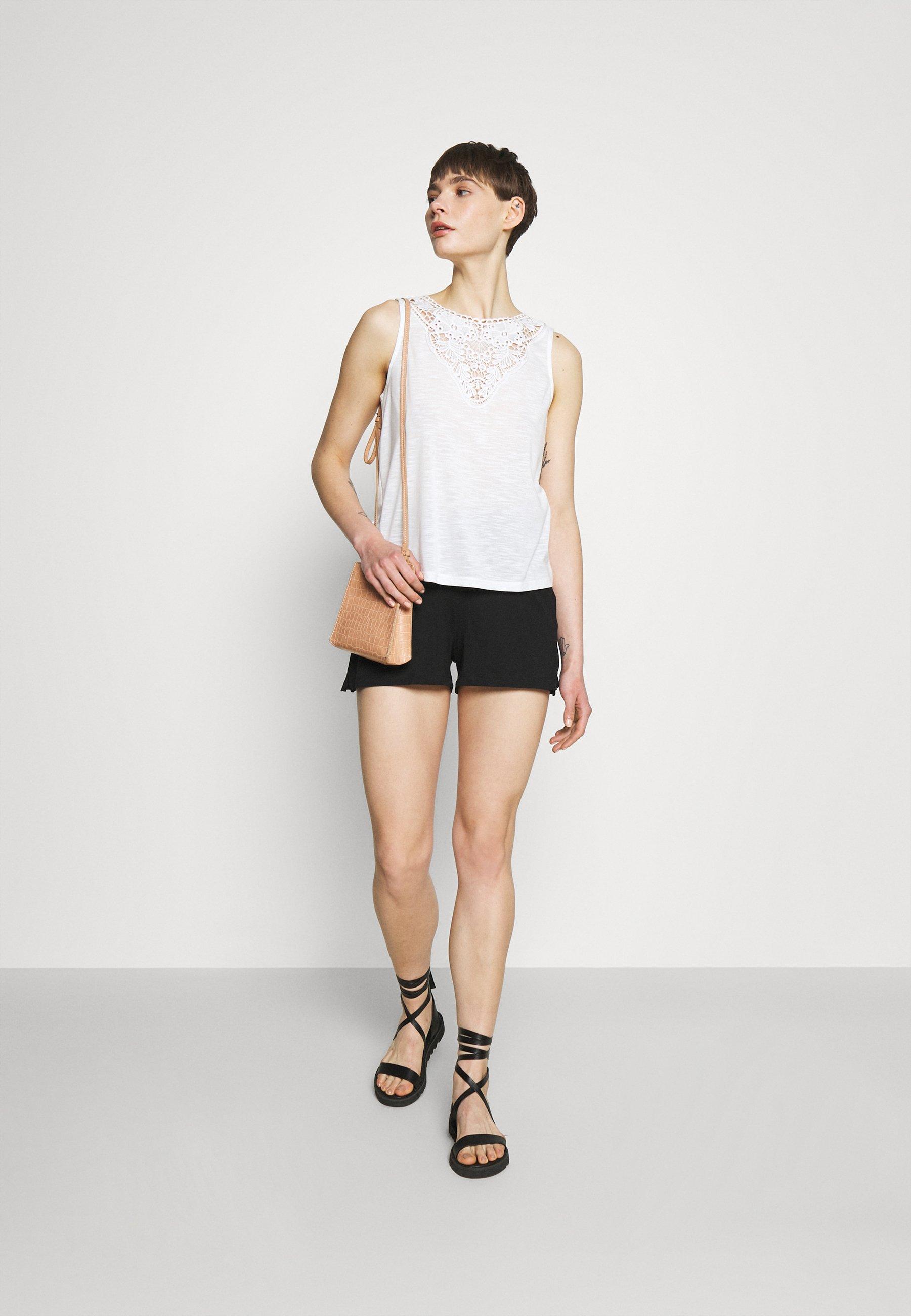 Women ONLMAY LIFE STRIPE 2 PACK  - Shorts