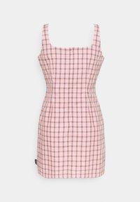 Kickers Classics - MINI GINGHAM DRESS - Day dress - pink/black - 1