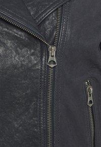 Pepe Jeans - AMELIA - Kožená bunda - admiral - 5