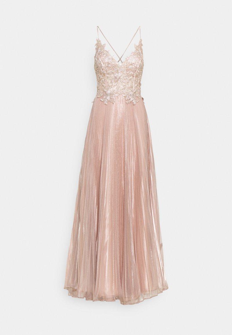 Luxuar Fashion - Ballkjole - rosegold
