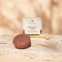 MICARAA - KONJAC FACE CLEANSING SPONGE - Makeup sponges & blenders - red - 1