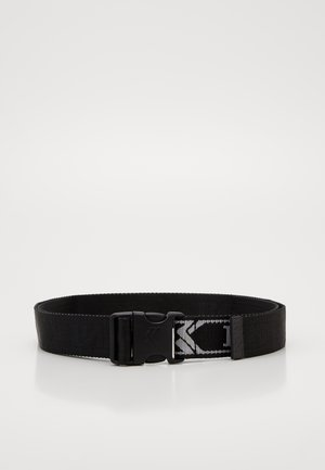 COLLEGE CLICK BELT  - Riem - black
