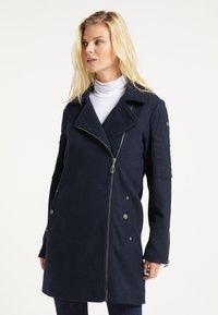 DreiMaster - Classic coat - marine - 0