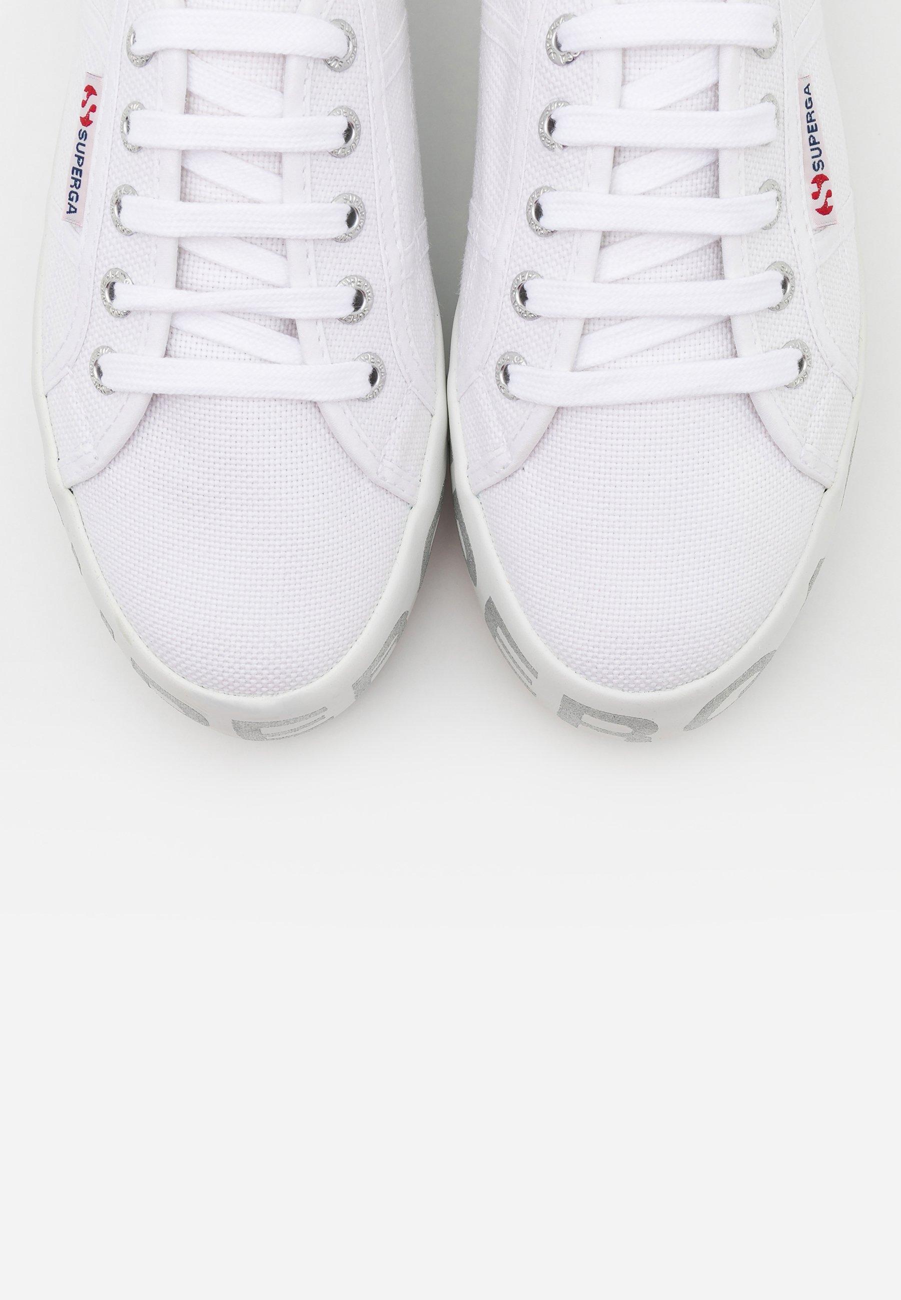 2790 GLITTERLETTERING Sneakers whitesilver