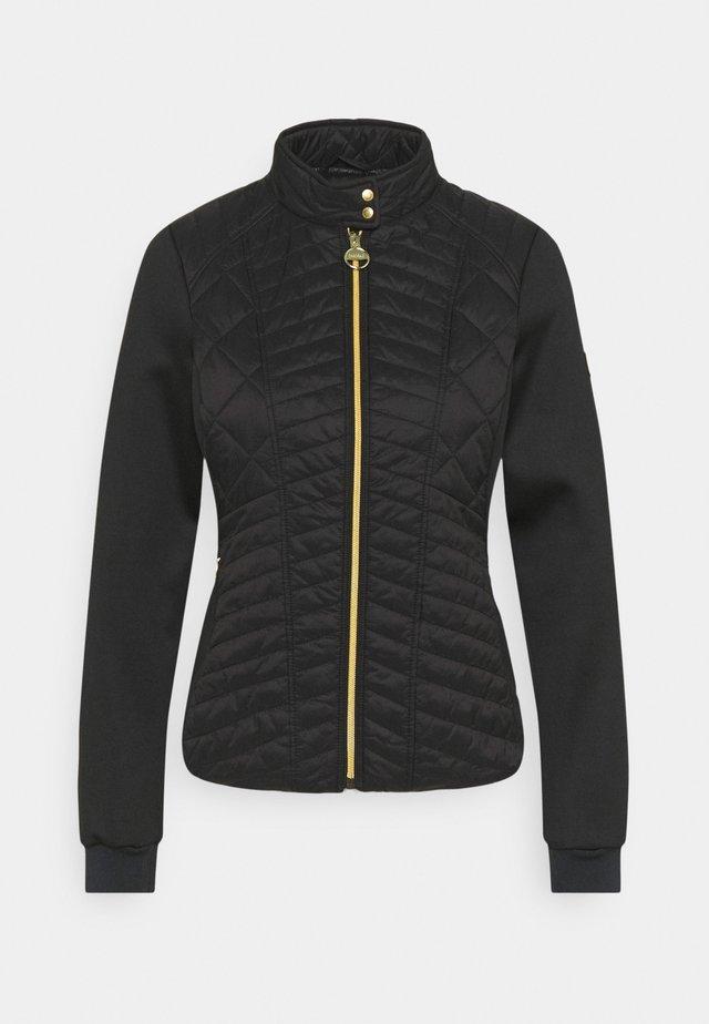 HALLSTATT - Lehká bunda - black