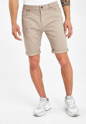 Denim shorts - beige