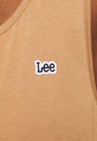 Lee - LOOSE TANK - Top - tobacco brown - 4