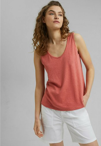 Top - coral