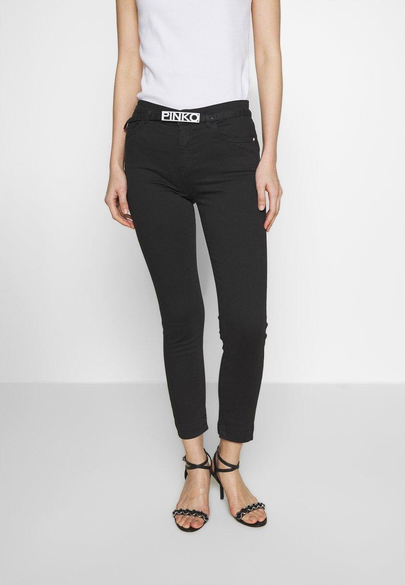 Pinko - SABRINA  - Jeans Skinny Fit - nero limousine