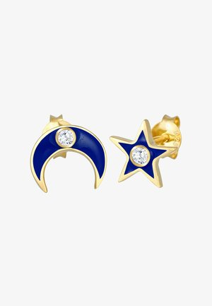 Star Half Moon - Boucles d'oreilles - gold