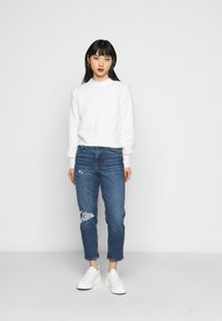 New Look Petite - BUSTED MOM LUCIOUS - Relaxed fit jeans - blue - 1