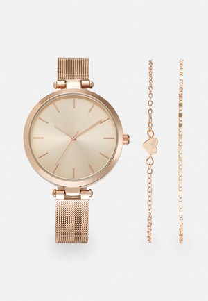 SET - Horloge - rose gold-coloured