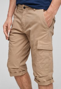 s.Oliver - Shorts - brown - 4