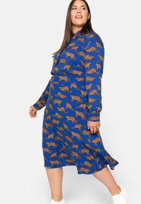 Sheego - A-line skirt - ultramarin - 3