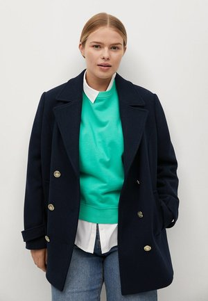 BOTON - Short coat - námořnická modrá