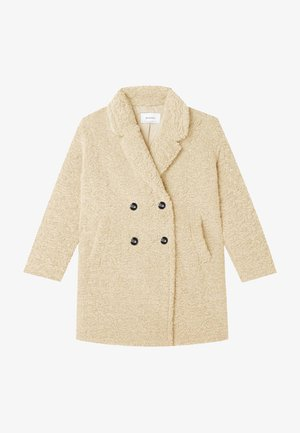 MIT LAMMFELL - Short coat - beige