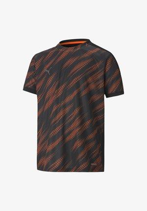 Sports shirt - schwarzorange