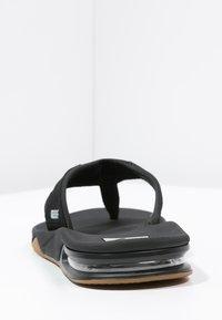Reef - Sandaler m/ tåsplit - black/silver - 3