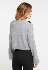 faina - Jumper - light grey melange - 2