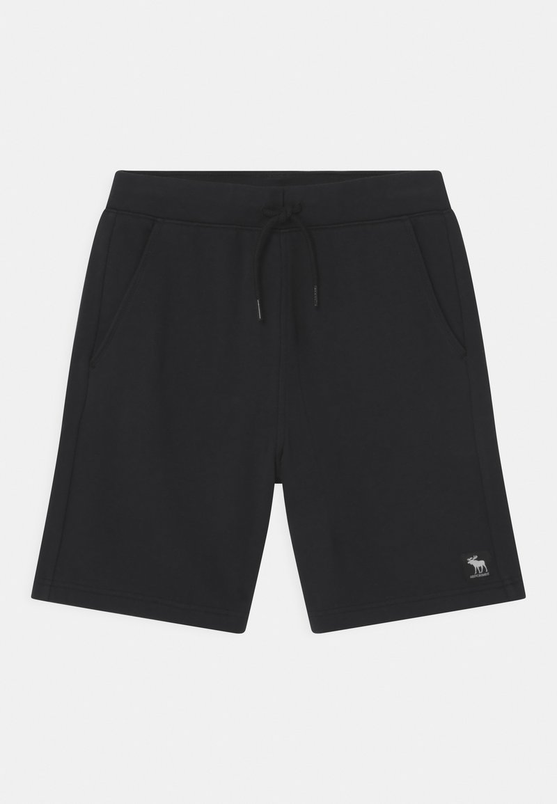 Abercrombie & Fitch - ABOVE THE KNEE - Shorts - black