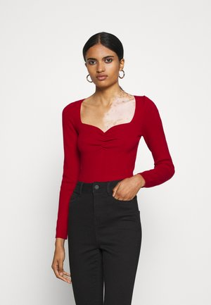 JESSICA - Strickpullover - red