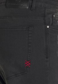 Double Cross - Skinny-Farkut - grey denim