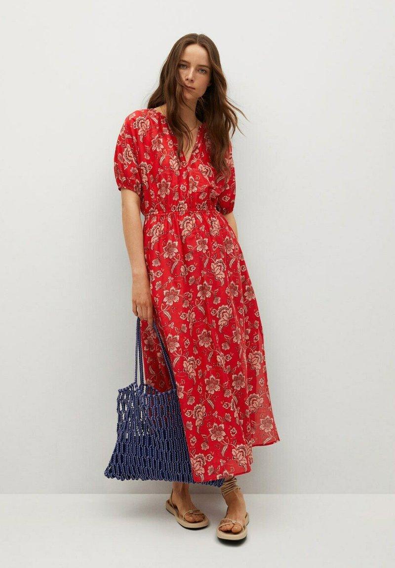 Mango - CALABASA - Maxi dress - rojo