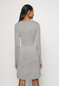 Vila - VIBOLONSIA - Jumper dress - light grey melange - 2