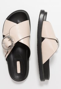 Topshop - PEDRO FOOTBED - Mules - stone - 4