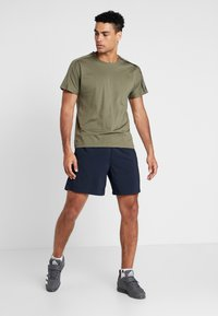 adidas Performance - CHELSEA ESSENTIALS PRIMEGREEN SPORT SHORTS - Sports shorts - blue