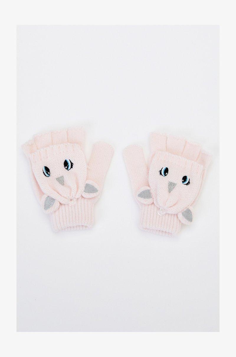 DeFacto - Fingerless gloves - pink